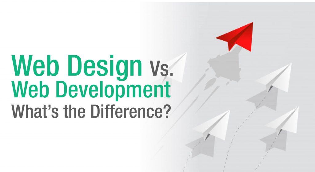 Web design Vs. Web Development: What's The Difference